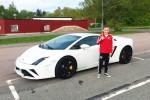Kjør med Lamborghini 20 km - Co Pilot