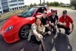 Kjør Ferrari 8 km >>TILBUD