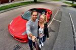 Kjør Ferrari 20 km KAMPANJE 50% Rabatt