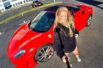 Kjør med Ferrari 40 km - Co Pilot