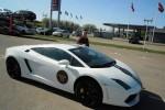 Kjør med Lamborghini 12 km - Co Pilot