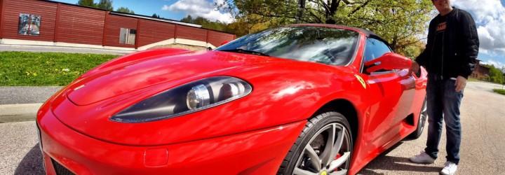 40 km körupplevelse i Ferrari