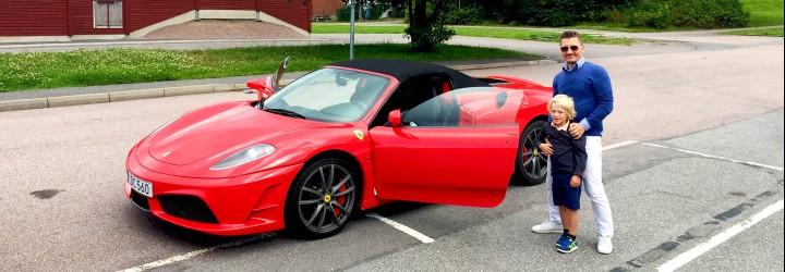 Ferrari upplevelse
