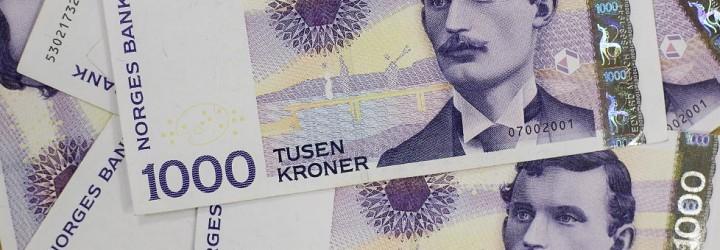 Gavekort verdi 1000 kr