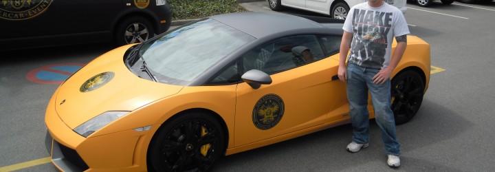 Kör Lamborghini 15 min